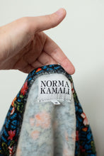Load image into Gallery viewer, 1980s Floral Cocoon Coat | Norma Kamali