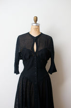 Load image into Gallery viewer, 1980s Black Corset Dress | Thierry Mugler