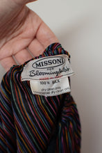 Load image into Gallery viewer, 1970s Rainbow Striped Silk Jersey Set | Missoni