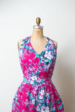 Load image into Gallery viewer, 1980s Floral Print Dress | Lanz