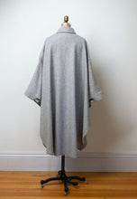 Load image into Gallery viewer, SALE 1980s Gray Wool Cape