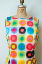 Load image into Gallery viewer, 1990s Circle Print Shift Dress | Todd Oldham