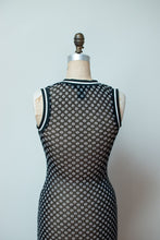 Load image into Gallery viewer, 1990s Mesh Daisy Dress | Vivienne Tam