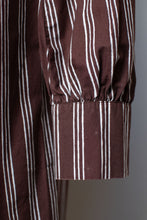 Load image into Gallery viewer, Brown Striped Dress | Marimekko