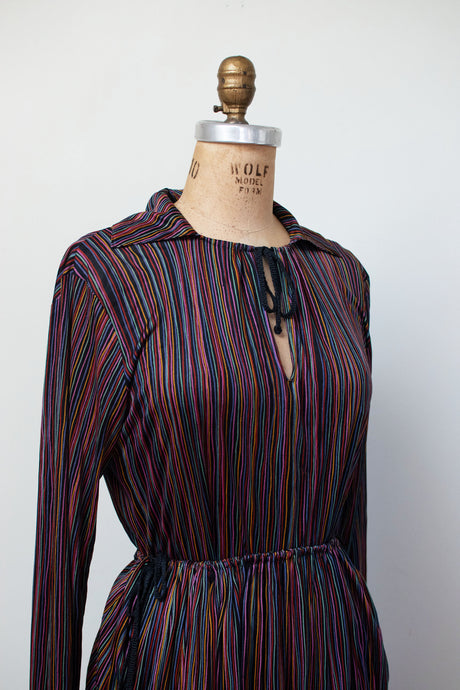1970s Rainbow Striped Silk Jersey Set | Missoni