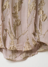 Load image into Gallery viewer, 1920s Sheer lamé Dress