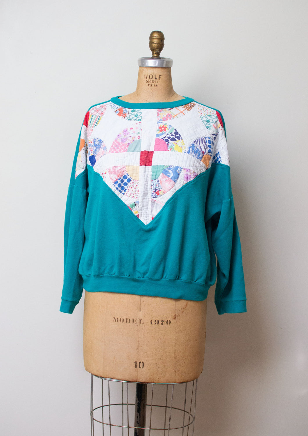 1990s Patchwork Sweatshirt