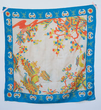Load image into Gallery viewer, 1920s Japanese Pongee Scarf
