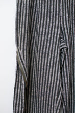 Load image into Gallery viewer, 1980s Striped Convertible Zip Side Cotton Trousers |  Issey Miyake