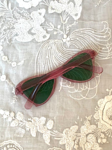 1940s Mauve butterfly Sunglasses