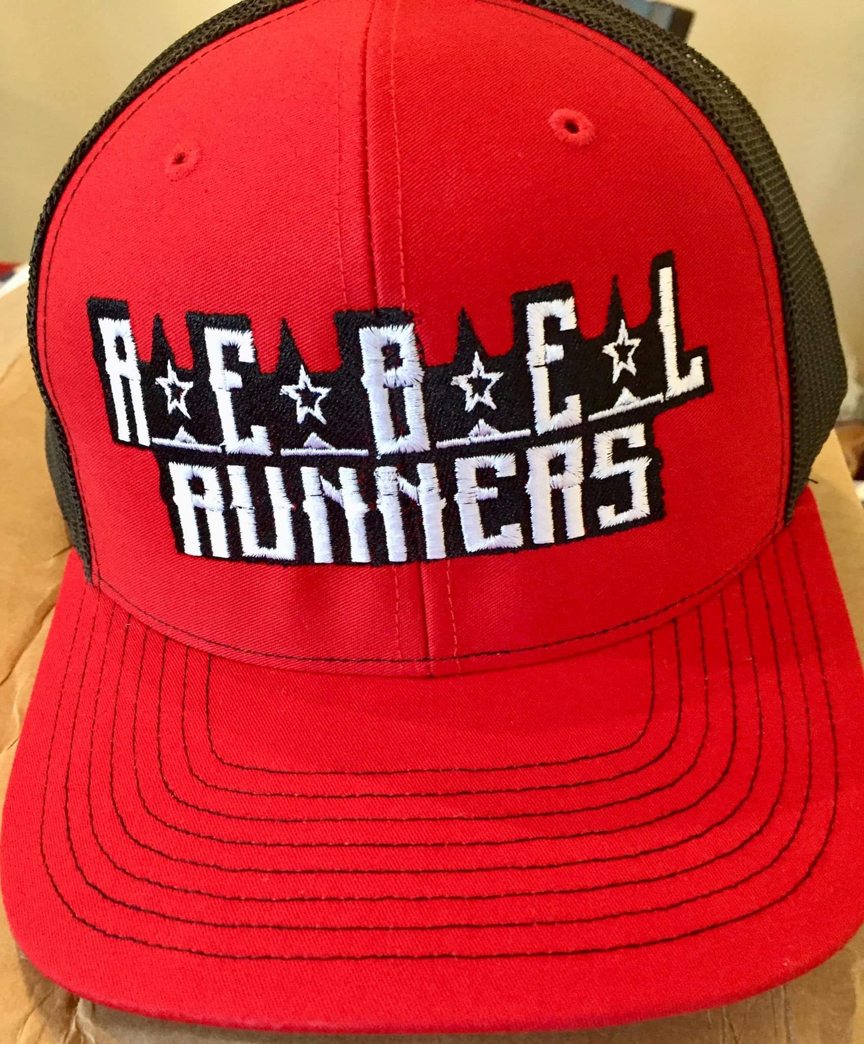 Rebel Runners Curved Brim Sombrero