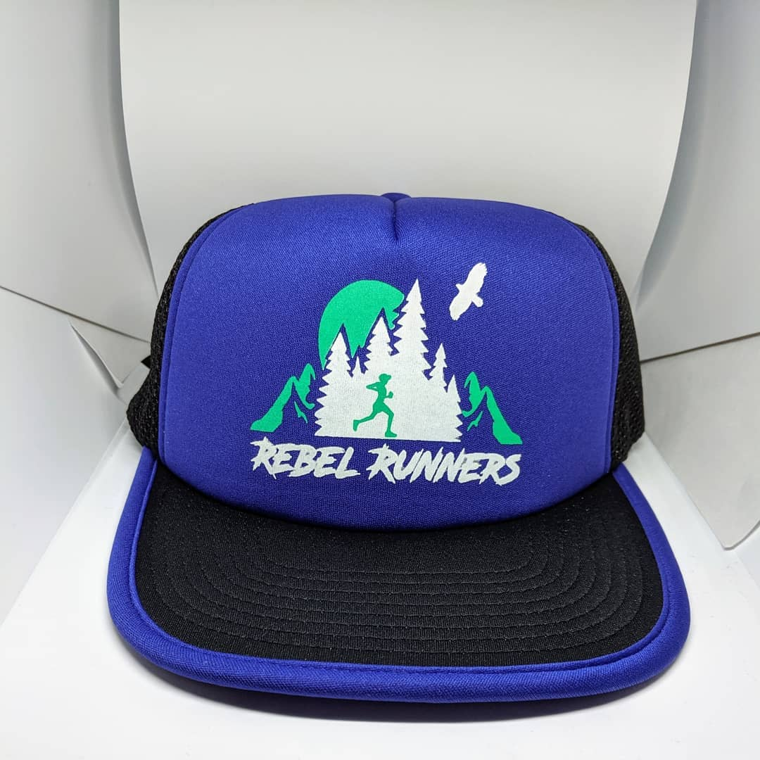 Soft Mesh Tech Running Hat - Purple