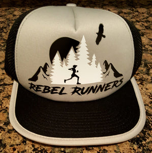 Soft Mesh Tech Running Hat - Silver