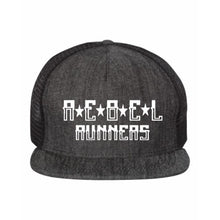 Load image into Gallery viewer, Rebel Flat Bill Five-Panel Trucker Hat