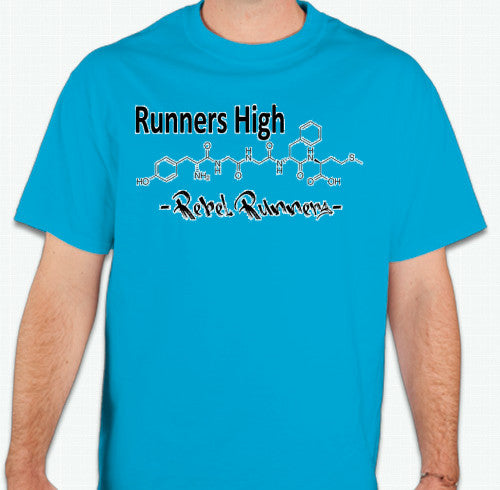 Short Sleeve Mens Runners High T Shirt