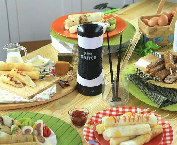 Rollie Eggmaster : Automatic Electric Egg Rolls Breakfast Maker