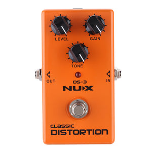 NUX Classic Distortion Electric Guitar Effect Pedal True Bypass