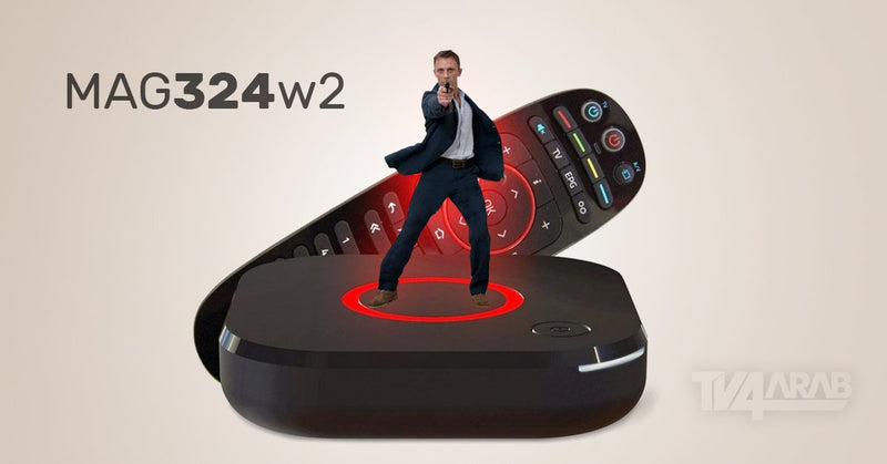 IPTV SET-TOP BOX MAG 324w2