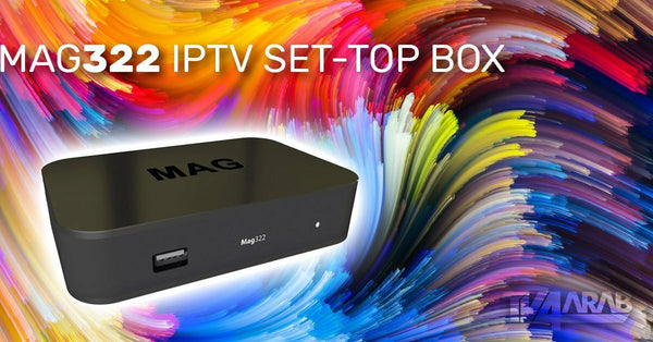 IPTV SET UP BOX MAG 322