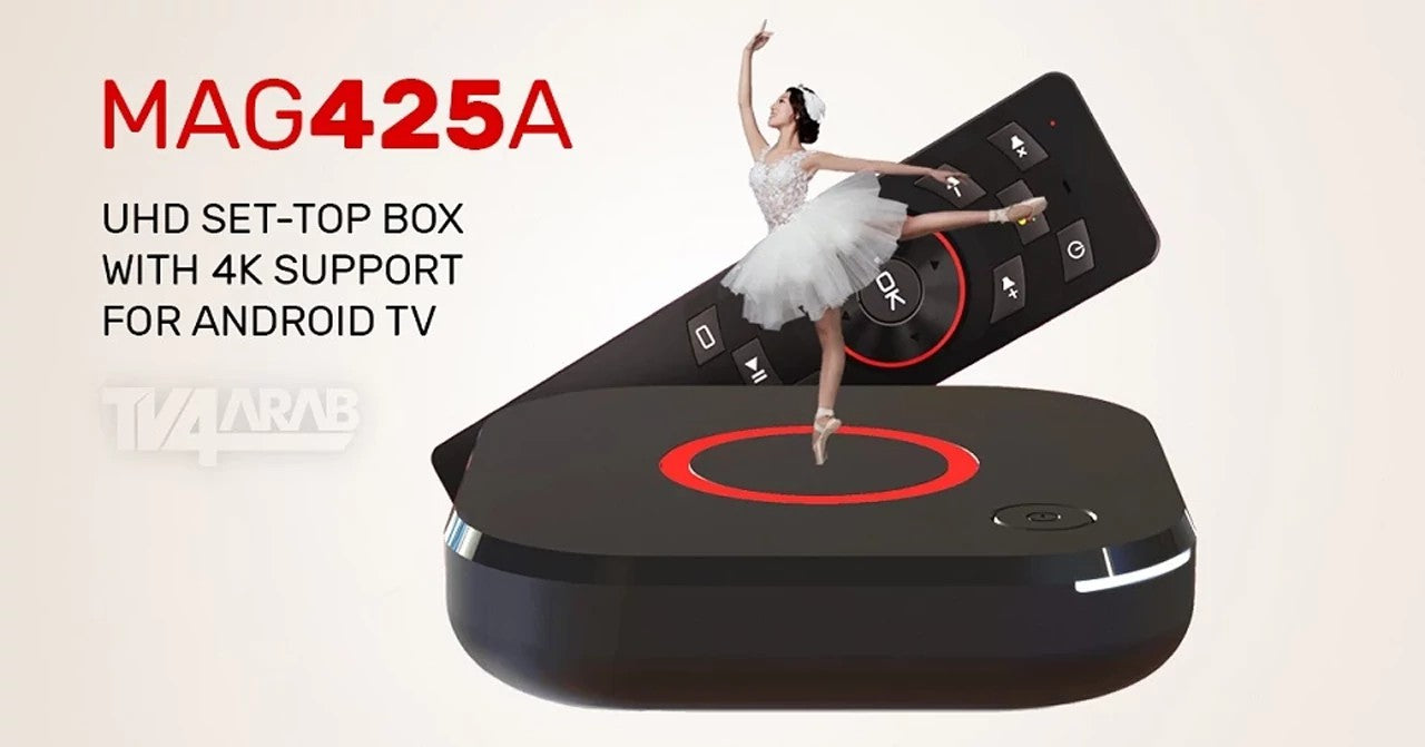 IPTV UHD ANDROID SET-TOP BOX 4K MAG 425A Built in Wifi – TV4ARAB