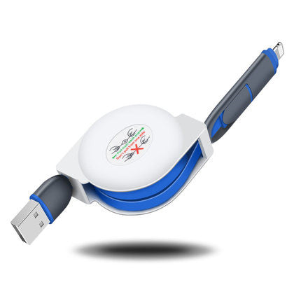 Telescopic charging cable