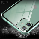 Double-sided glass magnetic king mobile phone case