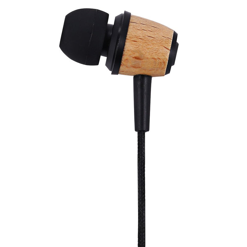 Awei ES - Q9 Wood Style 1.2m Cable Length In-ear Earphone
