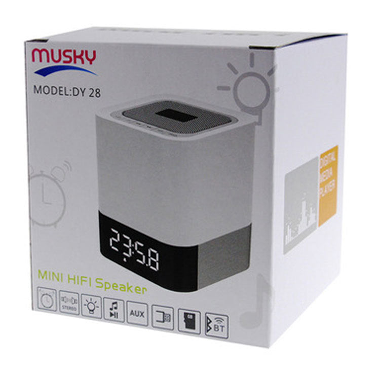DY 28 Musky Mini HIFI  Bluetooth Speaker With Touch Control
