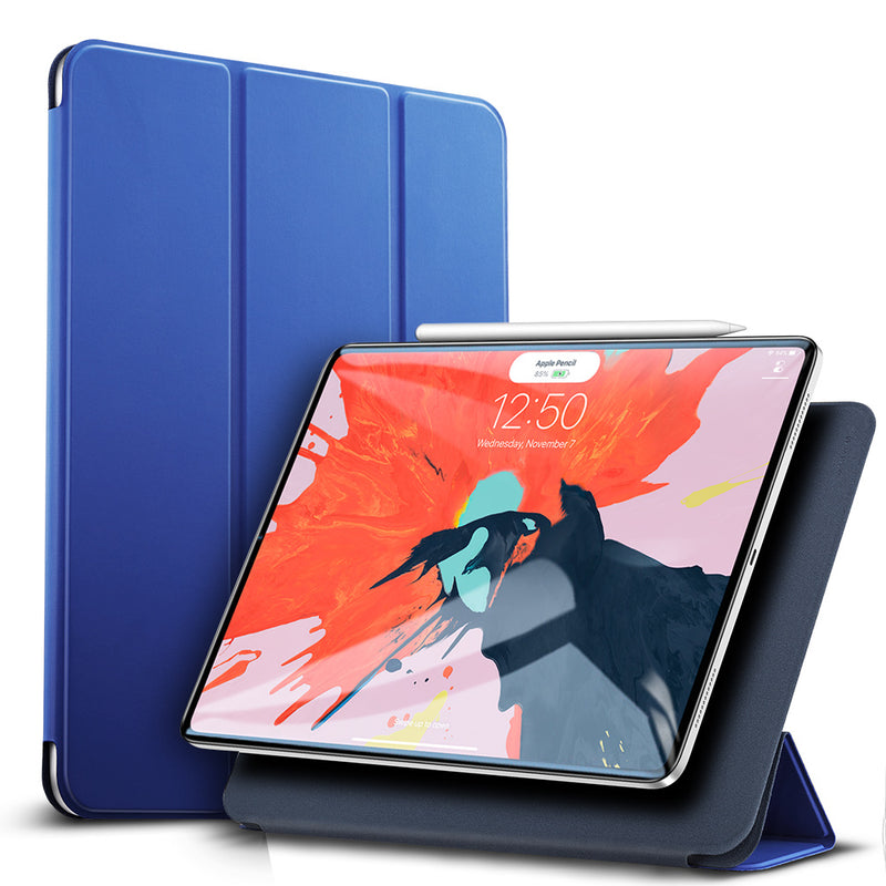Magnetic Smart Case for iPad Pro 11 inch 2020 Cover Trifold Stand Magnet Case Magnetic Attachment Rubberized Cover for iPad Pro11