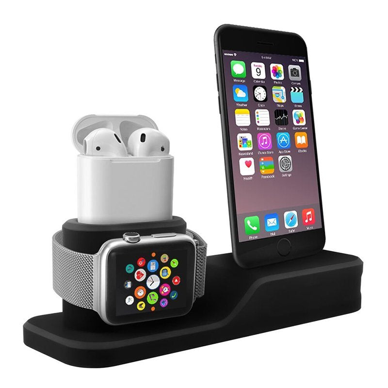 3-in-1 mobile phone charging base for  iwatch charging stand airpods charging stand