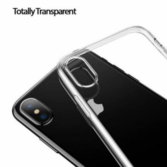 Clear Gel Transparent Case Cover for iPhone 5, 5s, 6, 6s, 6plus Soft for iPhone Case 7, 7plus, 8, 8plus, X, XS, XR, XSMAX