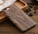 Creative leather wood grain mobile phone hard case for Iphone 7 8 PLUS and X