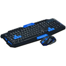 Hk8100 2.4 G Wireless Gaming Keyboard Mouse Combo Ergonomics Waterproof Optical For Pc Laptop Desktop Gamer