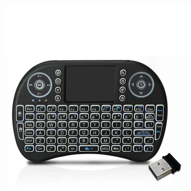 I8 Mini 2.4Ghz Wireless Touchpad Backlight Keyboard With Mouse