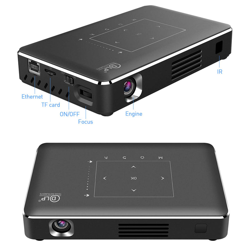 SM8A 150 Ansi Lumens Pocket Android 4k Projector