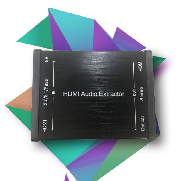 GV-018 HDMI Audio Extractor Built in Repeater -tv4arab