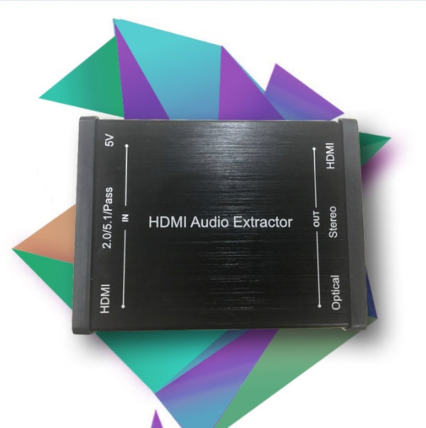 GV-019 HDMI Audio Extractor Built in Repeater-tv4arab