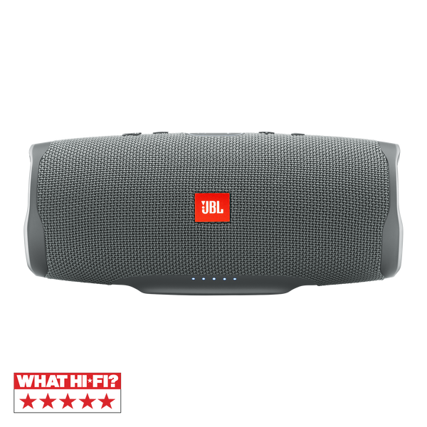 JBL Charge 4 Portable Bluetooth Speaker Gray Stone, IPX7 Waterproof