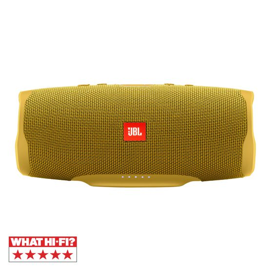 JBL Charge 4 Portable Bluetooth Speaker Yellow Mustard, IPX7 Waterproof