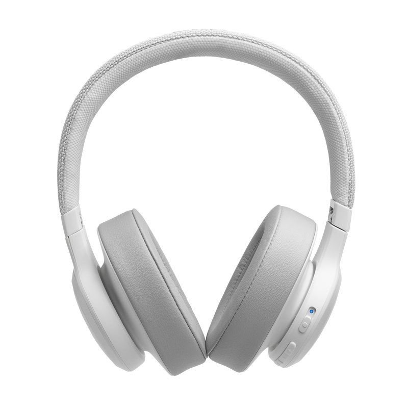 JBL Live 500BT Wireless over the Ear Headphones White Hands free, BT, Most Voice Assistants 30hr Battery Timing