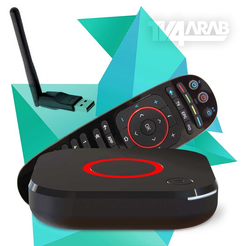 MAG 324 HEVC IPTV Set Top Box Latest Model Genuine + USB WiFi External Wireless Antenna