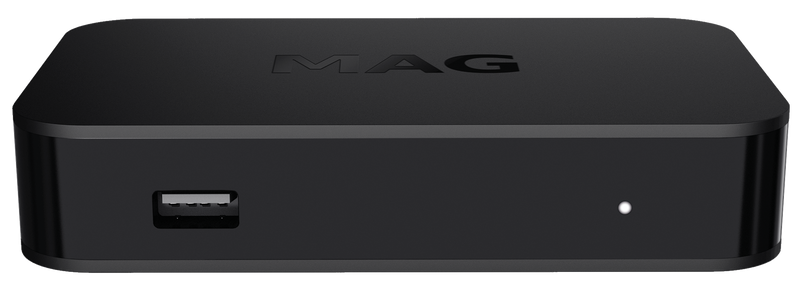 MAG 322 HEVC IPTV Set Top Box Latest Model Genuine + USB WiFi External Wireless Antenna