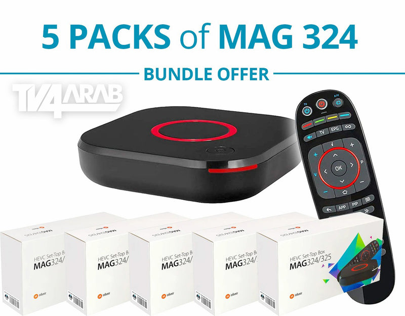 MAG 324 Bundle Pack of 2, 5, 10