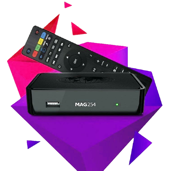 IPTV SET-TOP BOX MAG 254 W1 Built in Wifi - tv4arab