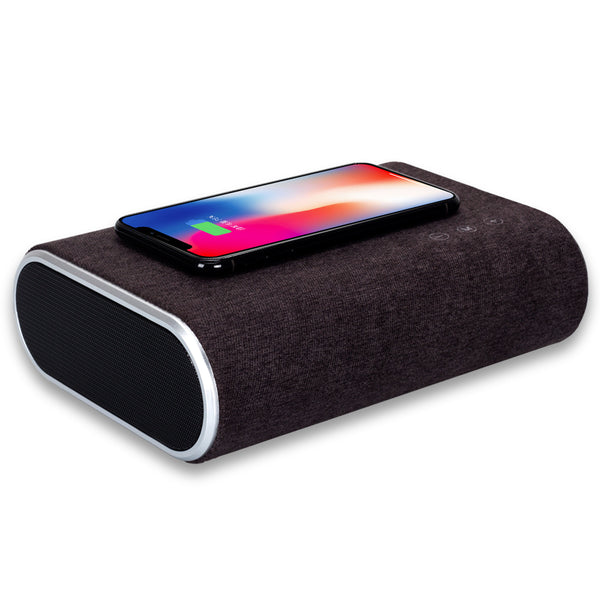 Wireless Charger with Bluetooth Speaker Fast Charging Device.