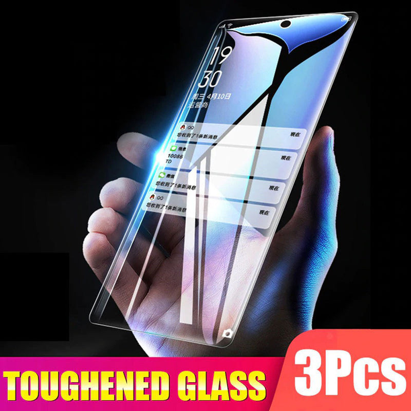 3Pcs 9H Tempered Glass For Samsung Galaxy A50 A40 A30 A10 A20 Screen Protector For Samsung A60 A70 A90 M10 M20 M30