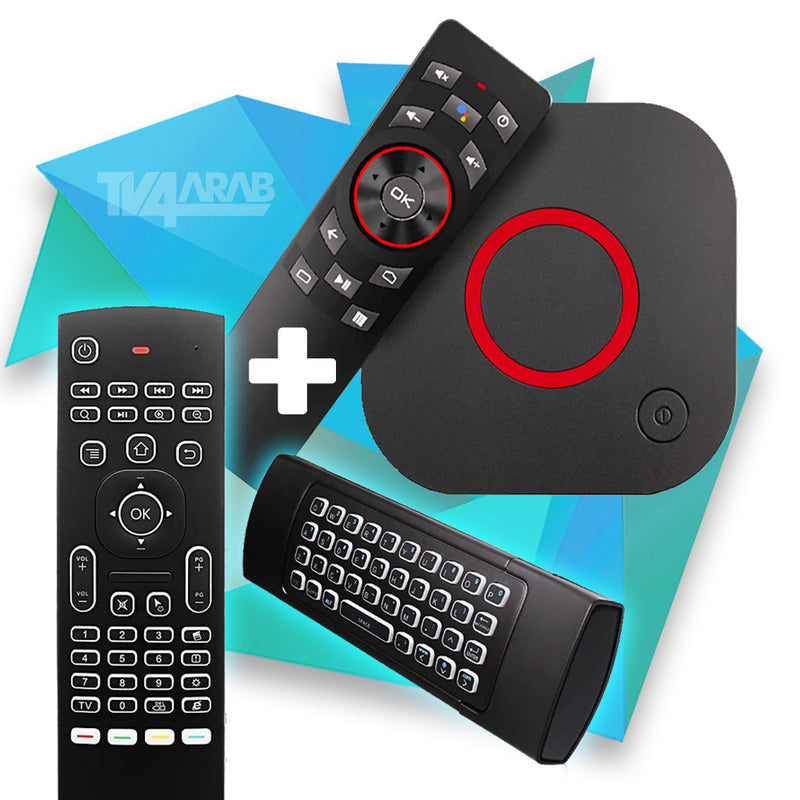 MAG 425A with Mx3 2.4G Wireless Remote Control Keyboard Air Mouse Backlit