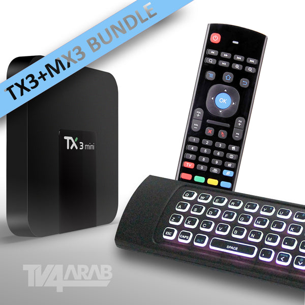 Bundle offer TX3 MINI + MX3 Wireless Remote