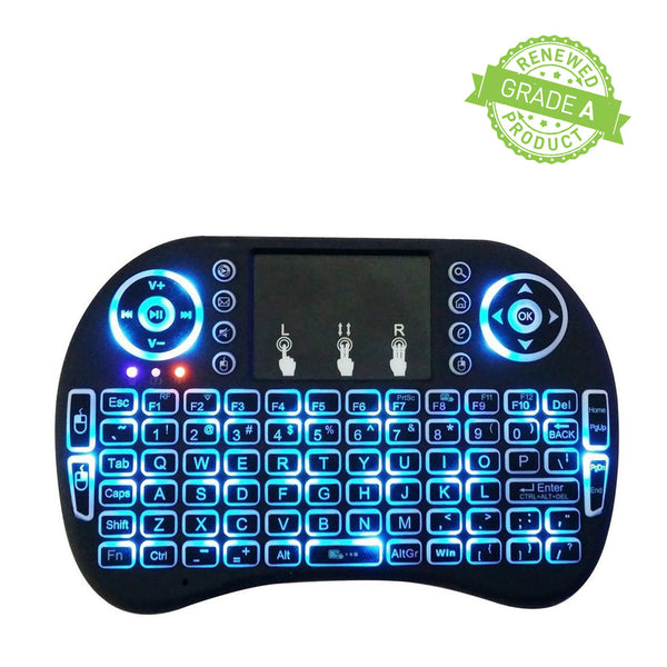 I8 Mini 2.4Ghz Wireless Touchpad Backlight Keyboard With Mouse (Refurbished)