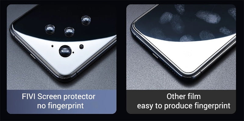 Screen Protector for iPhone X, XS, XS Max Full Cover Tempered Glass for iPhone x glass Explosion-Proof Protective Glass Protector